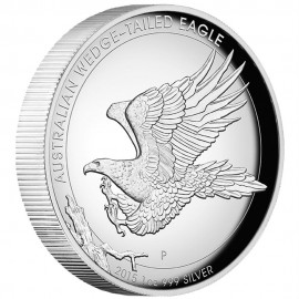 1 oz silver Wedge Tailes Eagle High Relief PP