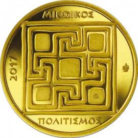 1 g Gold Griechenland 50 Euro 2017 PP Minoische Zivilisation 999,9e
