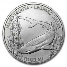 1 oz Silver  Barracuda 2017