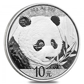 30 g Silber China Panda 2018 VVK