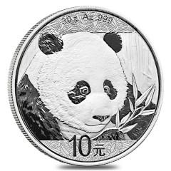 30 g Silber China Panda 2018 VVK