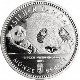 1 oz Silber Berliner Coin Panda 2017