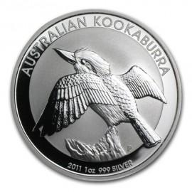 1 Unze Silber Australien Kookaburra 2011