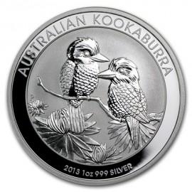 1 Unze Silber Australien Kookaburra 2013