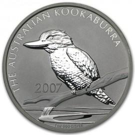 1 Unze Silber Australien Kookaburra 2007