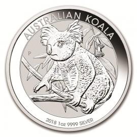 1 Unze Silber Koala 2018 VVK