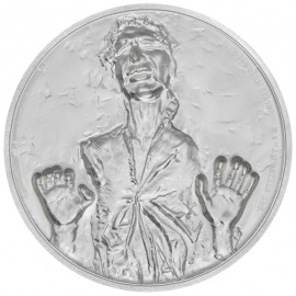 2 Unze oz   Silber  STAR WARS™ - Han Solo  PP  Ultra High Relief
