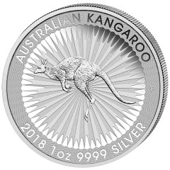 1 Unze Silber Känguru  Nugget 2018 Kangaroo