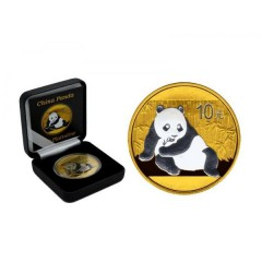 1 Unze Silber China Panda 2015 Gold Platin