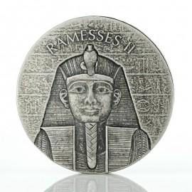 2 Unzen Silber Tschad Ramses II 2016 1000 CFA