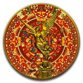 1 Unze Silber Mexiko Libertad 2017 Aztec Calendar