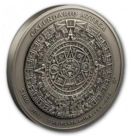 1 oz Aztekencalendar 2016