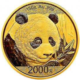 150 Gramm China Panda Goldmünze 2018 BOX