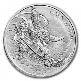 1 oz Unze Silber Südkorea South Korea 2017 1 Clay