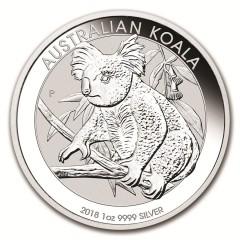1 oz Silver  Koala 2018