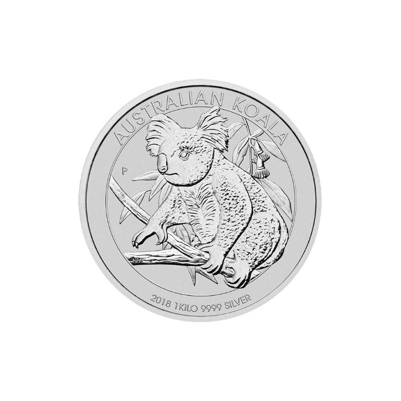 1 kg Silber Koala 2018
