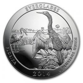 5 Unze Silber America The Beautiful ATB Everglades Florida