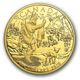 1/2 oz GoldFirst Nation Canada  2018 PP