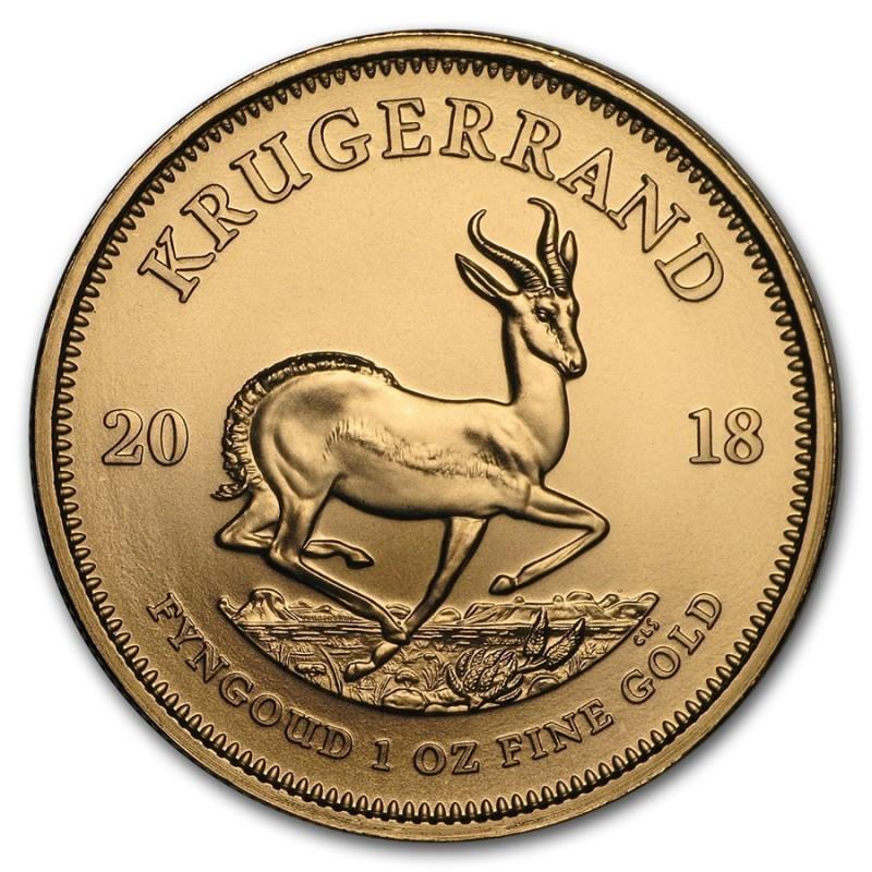1 Unze Gold Krügerrand 2018