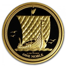 1 oz Unze Gold 2017 ISLE OF MAN NOBLE