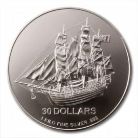 1kg Silber Cook Islands