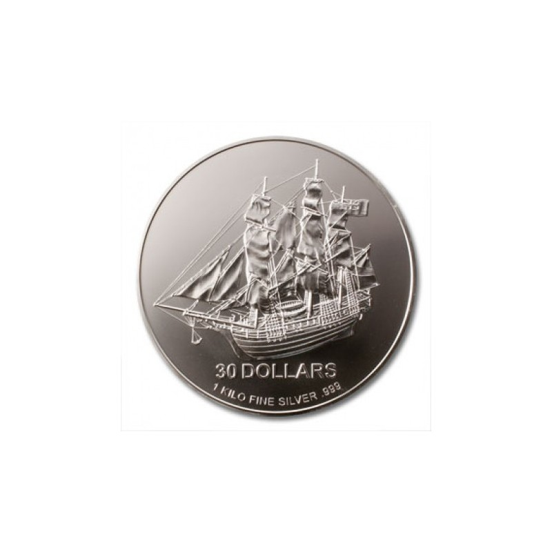 1kg Silber Cook Islands 2009