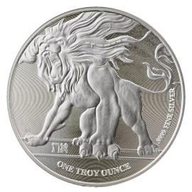 1 Unze Silber  Niue Löwe von Juda Brüllender Löwe 2018