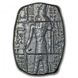 1 oz Silver Relic Bar - Monarch Precious Metals (Anubis)