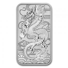 1 Unze Silber Rectangular Dragon Perth Mint 2018
