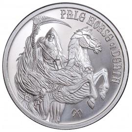 "1 Unze Silber  Provident FOUR HORSEMEN OF THE APOCALYPSE ""  Pale Horse of Death 2017"""