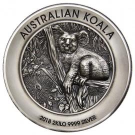 2 kg Silber Koala 2018