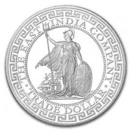 1 Unze Silber British Trade Dollar 2018