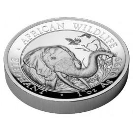 1 oz Silver Somalia Elefant 2018