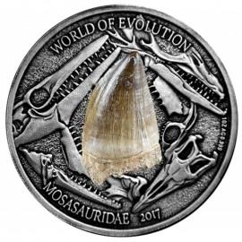 1 Unzen Bukina Faso Ammonite 2016