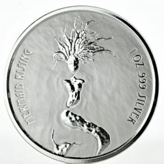1 oz Silver  mermaid 2018