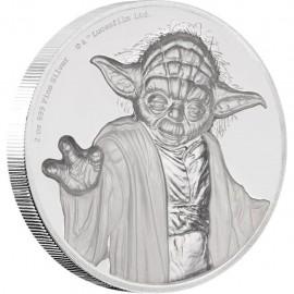 2 Unze Silver Yoda 2018