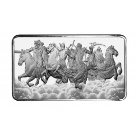 10 oz Silber Barren  Four Horsemen of the Apocalypse