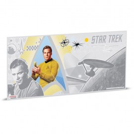 1$ 2018 Niue   5 g Silber STAR TREK™ - Original-Serie - Captain James T. Kirk™