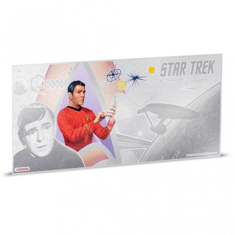 1$ 2018 Niue   5 g Silber STAR TREK™ - Original-Serie - Scotty™