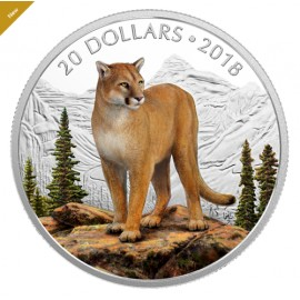 1 Unze Silber Canada Geometric Fauna - Grey Wolves - Grauwölfe