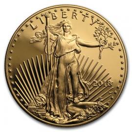 1 Unze Gold American Eagle 2018