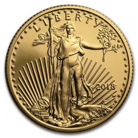 1/4 Unze Gold American Eagle PP 2018