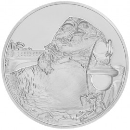 1 Unze Silber Jabba the Hutt  Star Wars Niue