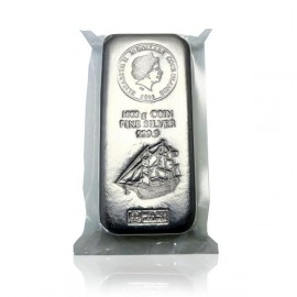 1kg Silber Cook Islands Münzbarren  Coin bar