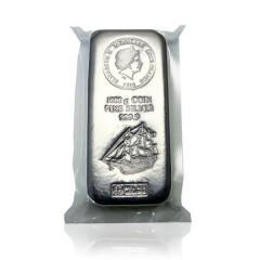 1kg Silber Cook Islands Münzbarren Silberbarren