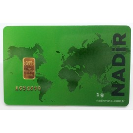 1 g Gold bar Nadir