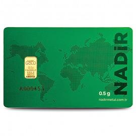 0,5  g Gold bar Nadir