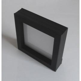 Schweberahmen schwarz  180 x 180 mm