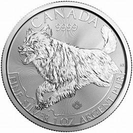 1 Unze Silber Wolf   2018 Predator Canada