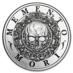 2 Unzen Silber  Latin Allure Series: Memento Mori